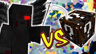 CEIFADOR SINISTRO VS. LUCKY BLOCK ESPECIAL (MINECRAFT LUCKY BLOCK CHALLENGE)