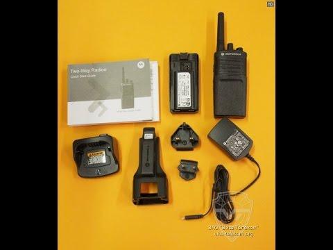 PMR носимые радиостанции Motorola XT420, XT460