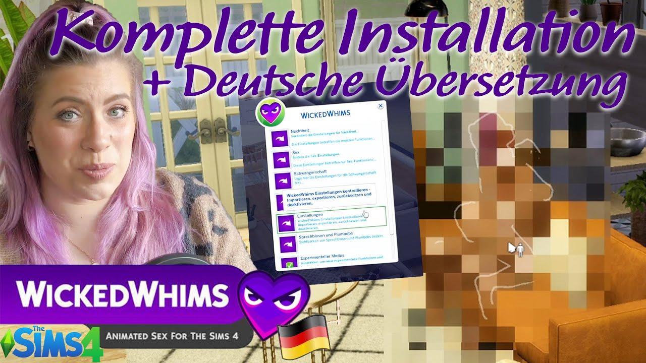 Download Wicked Whims auf DEUTSCH 🇩🇪 Installations Guide Ep. 1  SimSaraBim