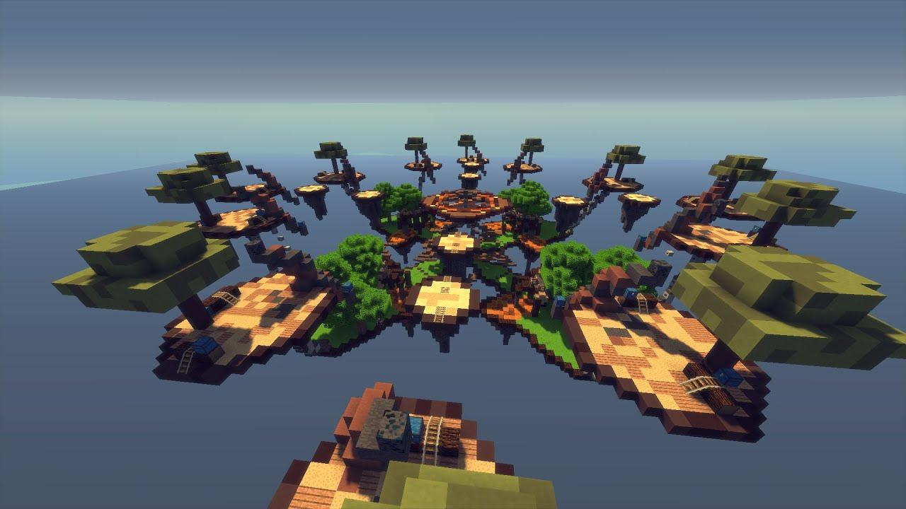 Map SkyWars [free download] SkyRoll [8/12 players] [1080p/60fps