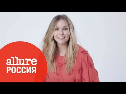 Элизабет Олсен на съёмках июньского номера Allure