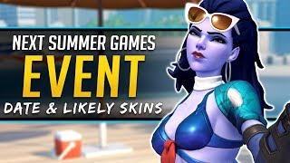 Overwatch SUMMER GAMES 2018 - Date & Legendary Skins Predictions