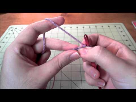 Learn to Crochet Pt 1 – Chain Stitch and Single Crochet
