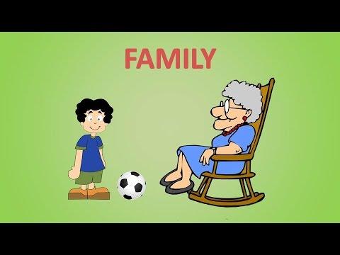 английские слова на тему семья 2 класс
