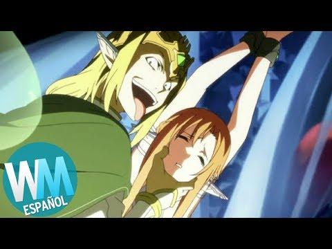 ¡Top 10 Momentos Que ARRUINARON un Anime!