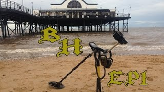 Metal detecting the beach at cleethorpes ep1