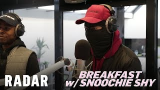 K-Trap on Breakfast w/ Snoochie Shy (Freestyle)