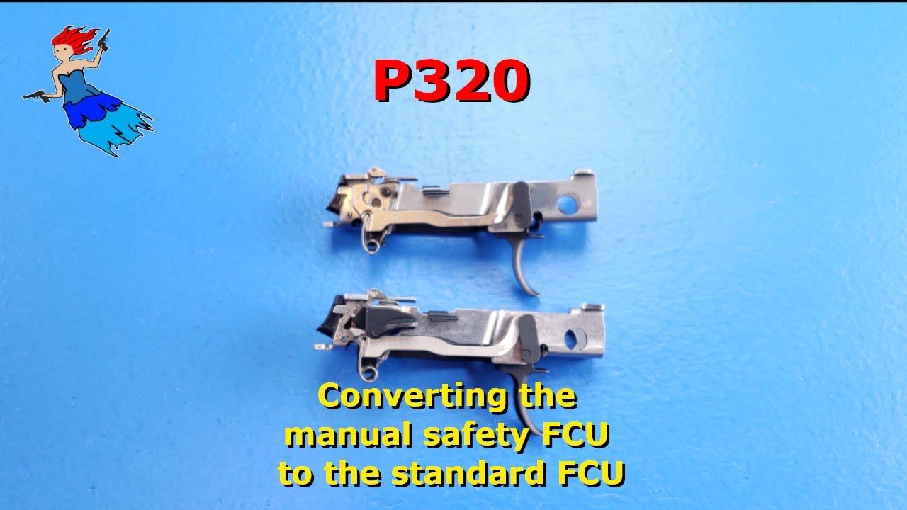 Sig P320 Manual Safety Conversion