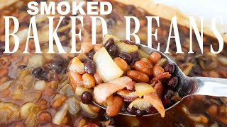 Gambar cover The BEST Smoked Cowboy Baked Beans Recipe - BBQ Sides - Backyard Texas Barbecue