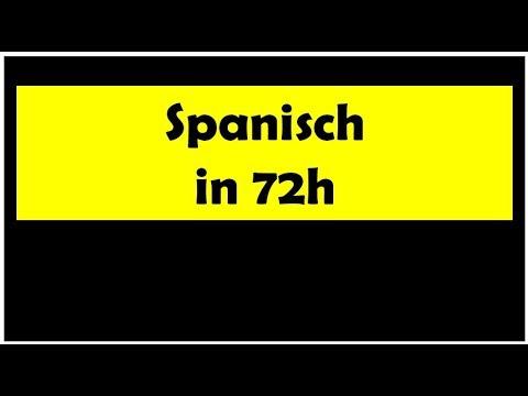 spanisch lernen f r anf nger youtube. Black Bedroom Furniture Sets. Home Design Ideas