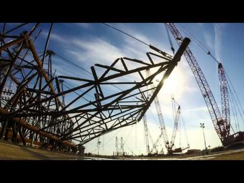 Mammoet - Building an Offshore Rig