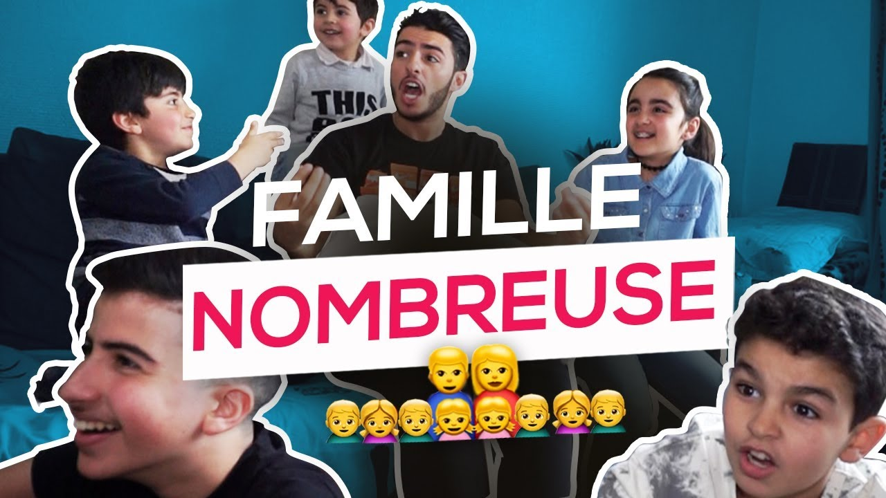 UNE FAMILLE NOMBREUSE - FAHD EL