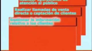 Teleoperador / Teleoperadora. Ocupaciones. SAE.