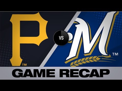Thames' 2 Homers Power Brewers To Win   Pirates-Brewers Game Highlights 9/22/19