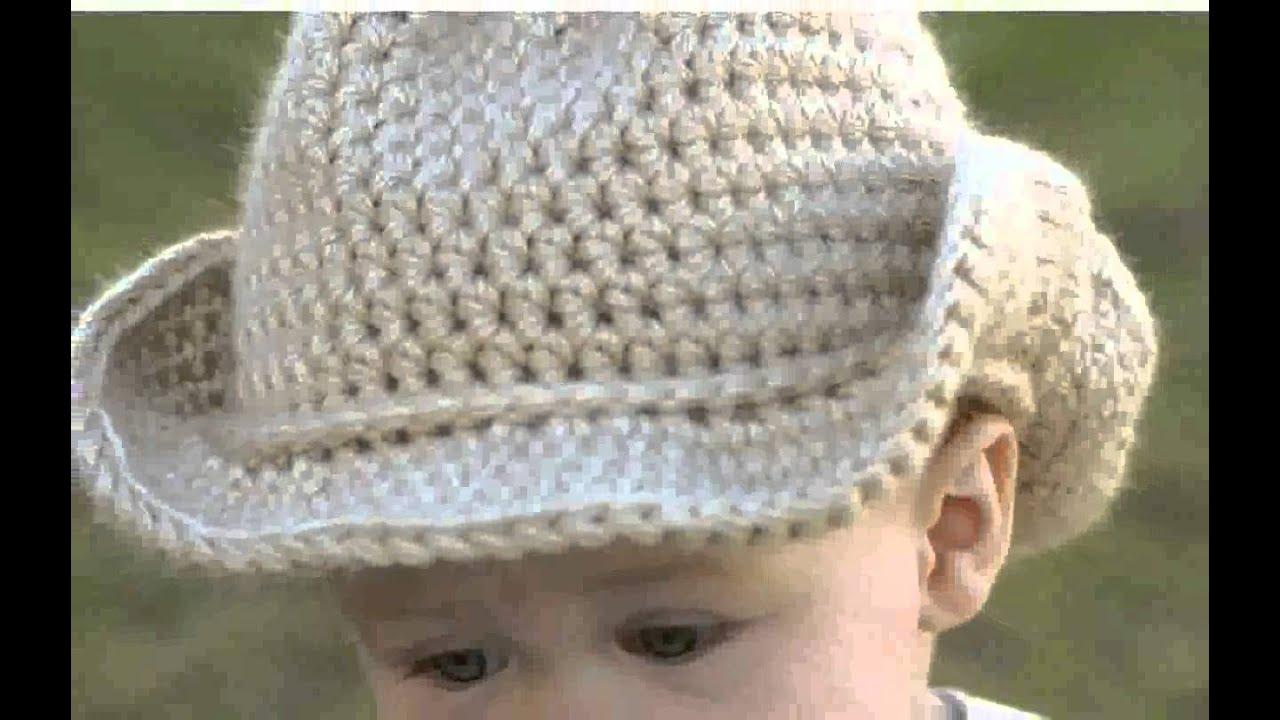 cowboy hat crochet sombrero vaquero pattern # 13