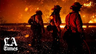 Bond fire threatens homes in Orange County, prompts evacuations