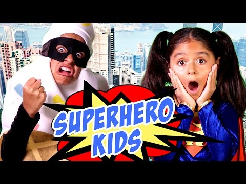Superhero Kids : SKETCH COMEDY // GEM Sisters