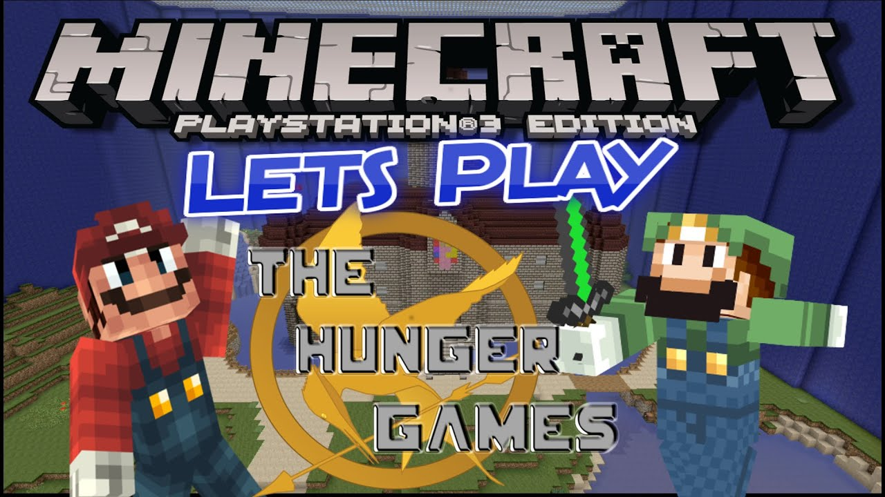 Mario Games For Ps3 : Super mario hunger game lets play minecraft ps