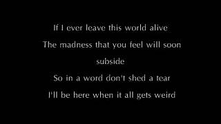 If I Ever Leave This World Alive - Flogging Molly Lyrics