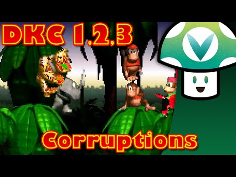 [Vinesauce] Vinny - Donkey Kong Country 1,2&3 Corruptions