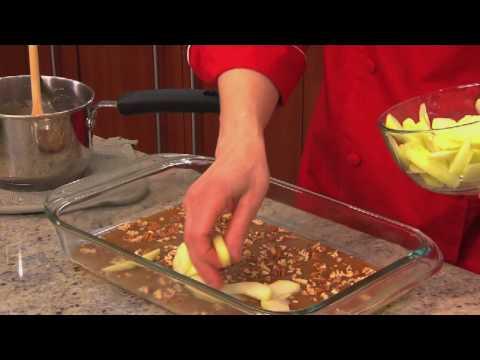 How to Make Warm Caramel Apple Cake with Betty Crocker
