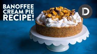how to make banoffee pie caramel cream banana dessert