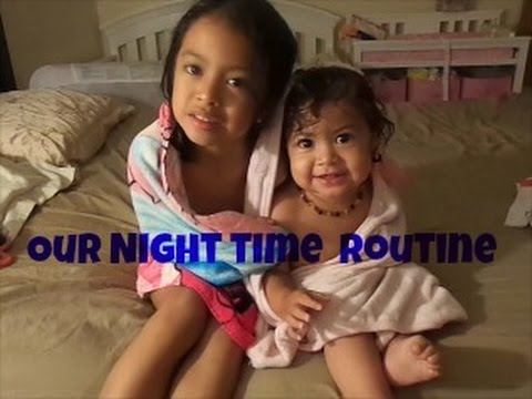 Night Time Routine Baby & Toddler|Veda #19 - YouTube