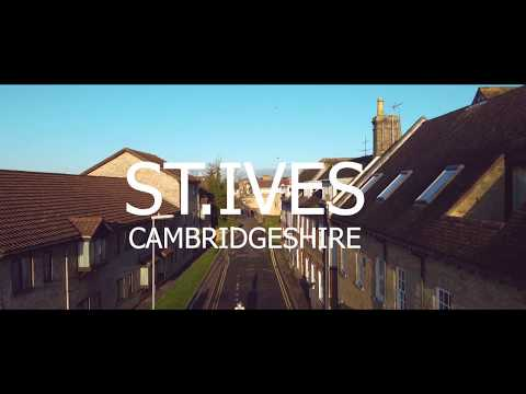 Aerial View Of St. Ives, Cambridgeshire | London | DJI MAVIC MINI
