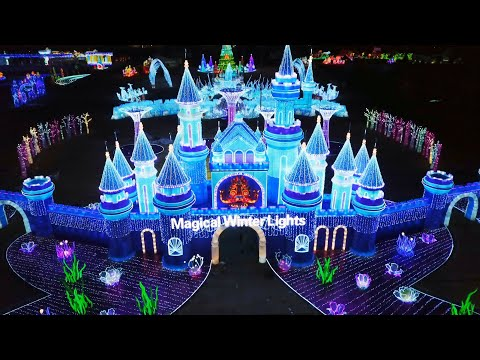 Dana & Jay in the Morning - Magical Winter Lights Featured On The Great Christmas Light Fight