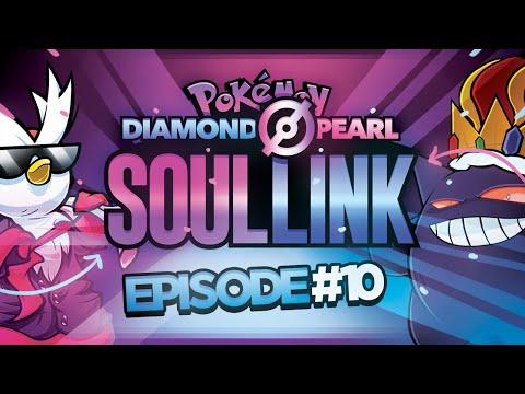 "Pokémon Diamond &Pearl  Soul Link Randomized Nuzlocke w/ @TheKingNappy!! - Ep10 ""LITTLE HAX STAR!"""