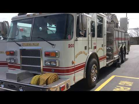 Fr. Pete Blesses The Cuyahoga Falls Fire Department – March 26, 2020