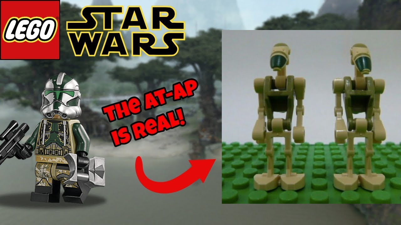 New Battle Droids For The 2019 Lego Star Wars Sets Youtube