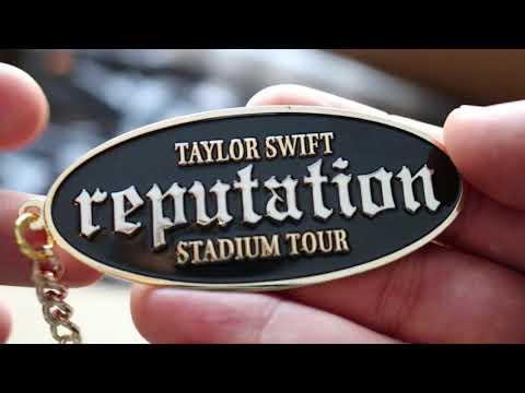 Taylor Swift Reputation Merch Unboxing