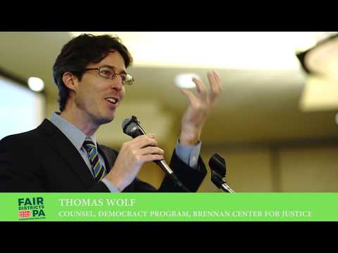 Tom Wolf of Brennan Center for Justice: If Gerrymandering Was A Movie