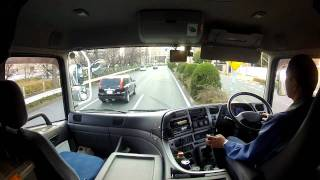 トレーラーの運転風景2 thumbnail