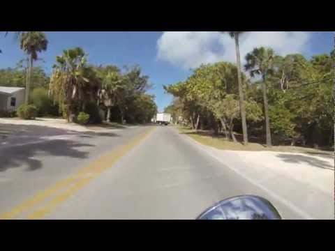 Motorcycle ride around sanibel & pine Island