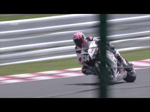Spectacular motorcycle crash sends Casey Stoner flying through air