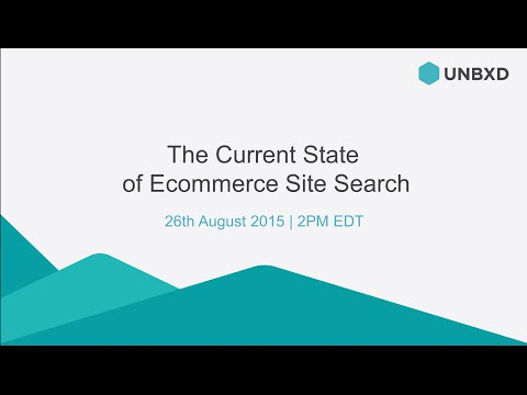 The Current State of Ecommerce site search
