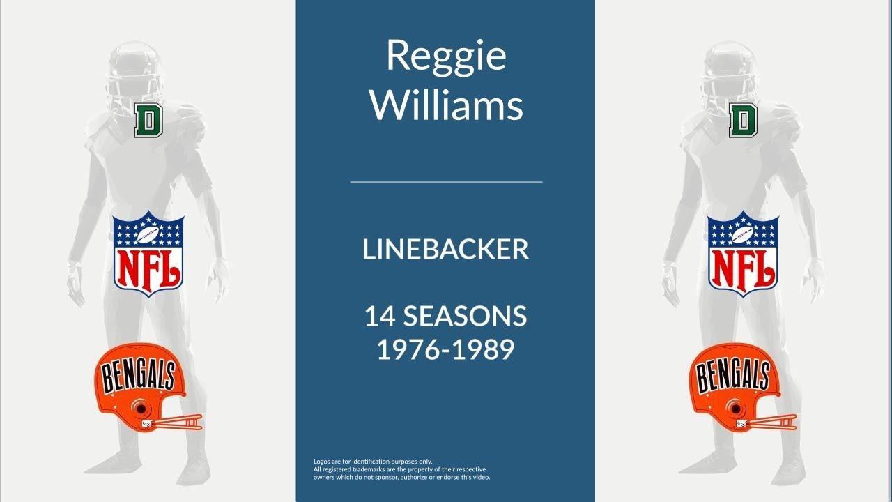 Reggie Williams Football Linebacker