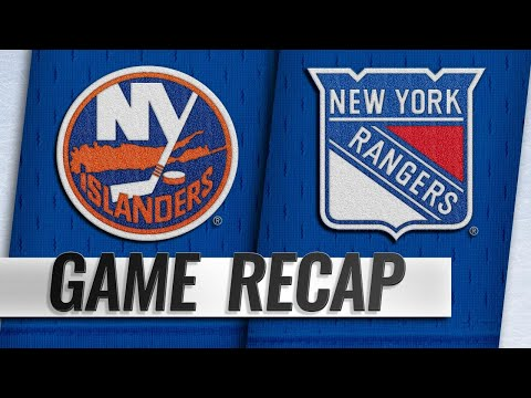 Georgiev's first shutout leads Rangers past Islanders