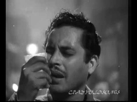 JINEHEIN NAAZ HAI HIND PER -   RAFI -   SAHIR  - S D BURMAN  - PYAASA (1957 )