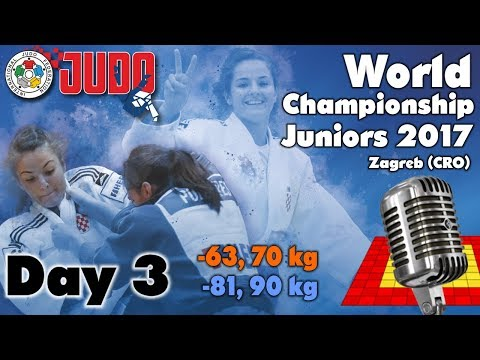 World Judo Championship Juniors 2017: Day 3