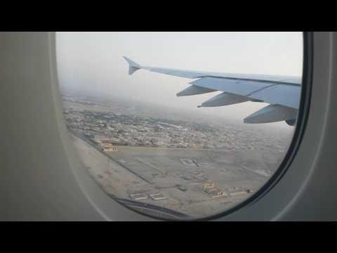 Emirates EK 19  A380 Dubai Departure 21/01/17 4k