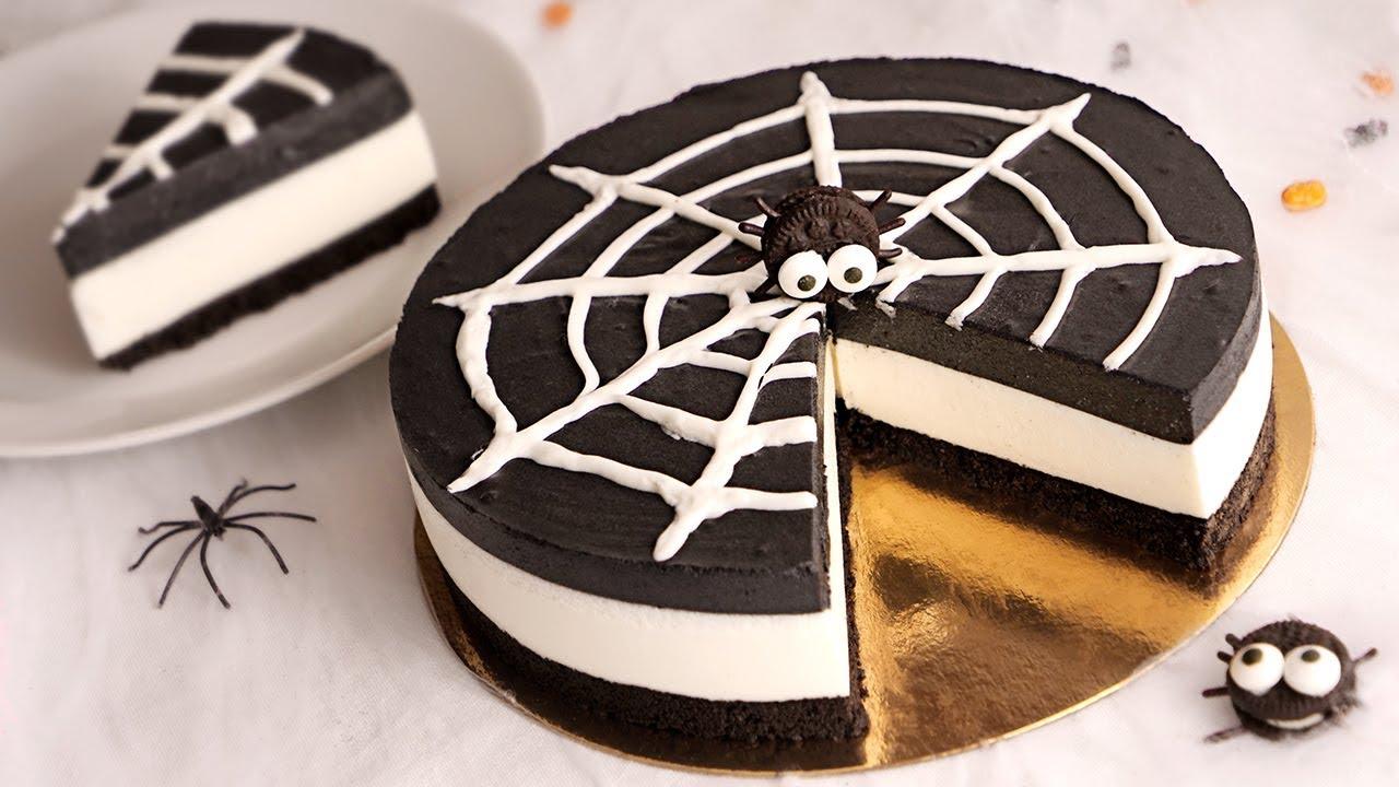 Tarta de Oreo SIN HORNO especial Halloween