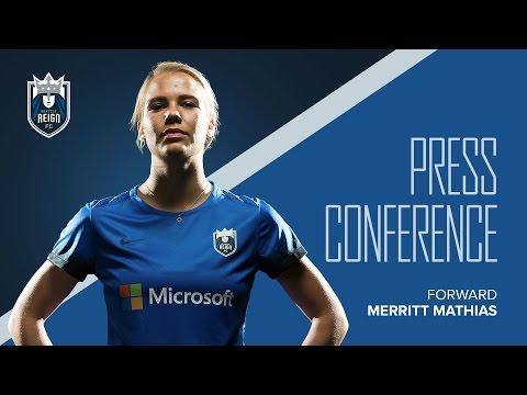 Post-Match Press-Conference: Merritt Mathias // Seattle Reign FC