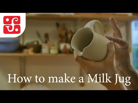 How To Make A Milk Jug - Leach Pottery, St Ives