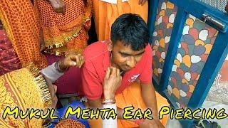 Mukul ear piercing