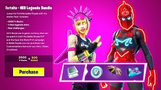 "How To Get ""NEO LEGENDS"" BUNDLE in Fortnite! NEW NEO LEGENDS PACK LEAKED! (Neo Legends Bundle)"