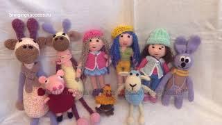 Продажа мягких игрушек ручная работа. Купить куклу, детскую игрушку Свинку Пеппу