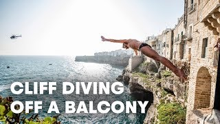 This Italian Town Became A Cliff Divers Paradise | Red Bull Cliff Diving Italy 2019